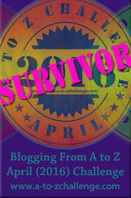 Survivor a-z challenge 2016